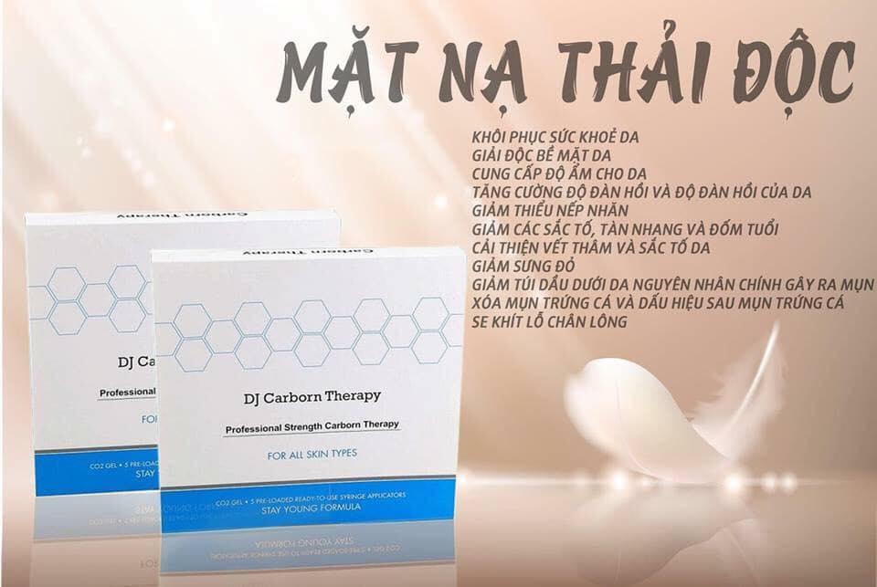 Mặt Nạ CO2 Dj Therapy Carbon Hàn Quốc